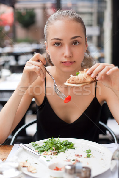 Eating out. Stock photo © lithian
