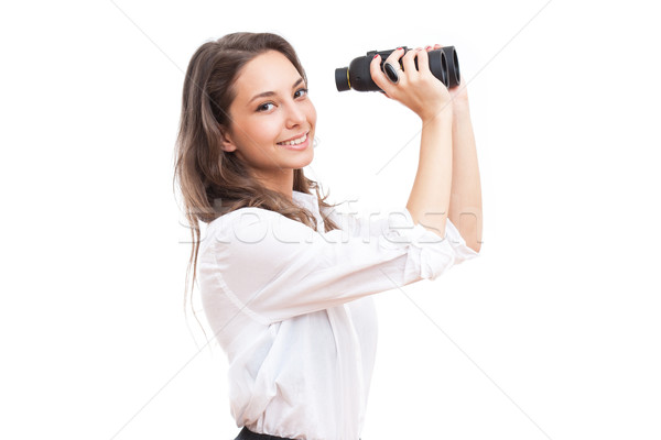 Looking for success. Stock photo © lithian
