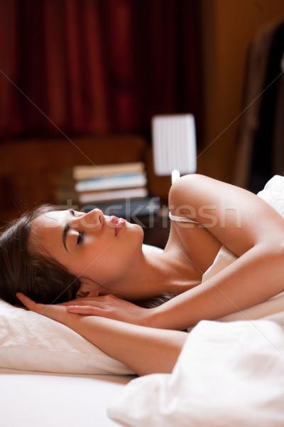 A good night's sleep. Stock photo © lithian