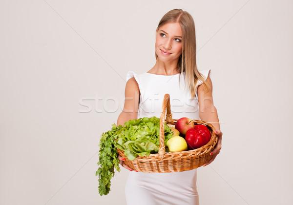 Сток-фото: здорового · портрет · красивой · молодые