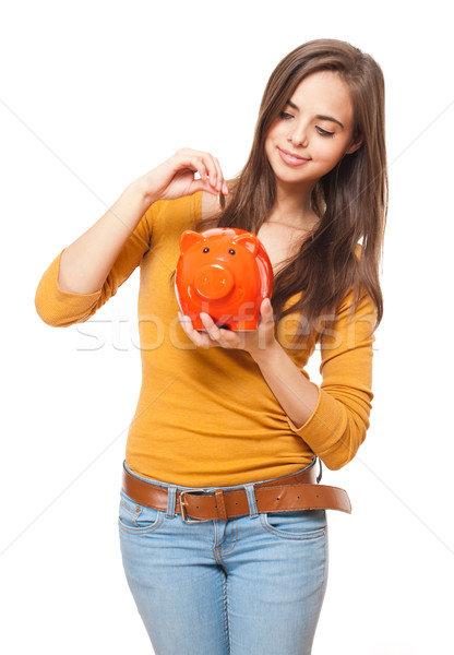 Young saver. Stock photo © lithian