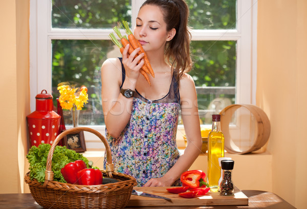 Cooking course. Stock photo © lithian