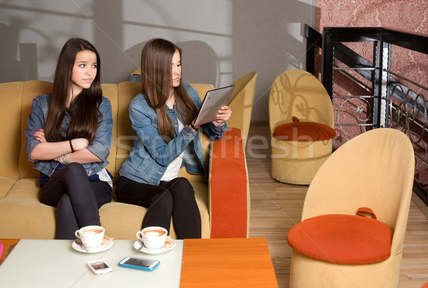 Lost in communication. Stock photo © lithian