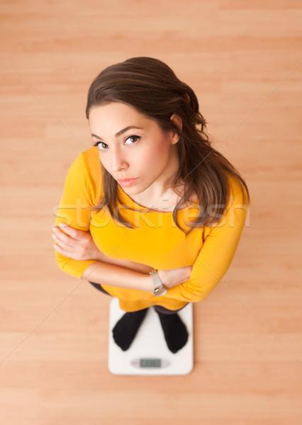 Misura up ritratto magnifico giovani bruna Foto d'archivio © lithian