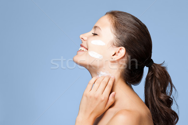 Skin care. Stock photo © lithian