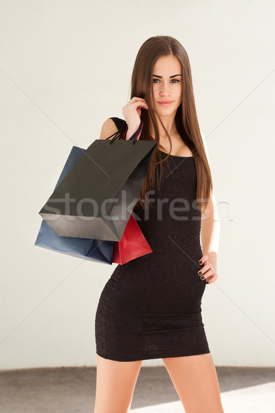 Beauty shopper. Stock photo © lithian