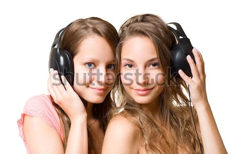 Stock photo: Share the music.