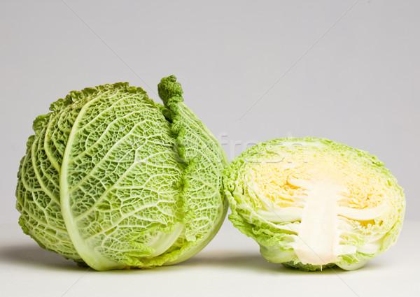 Iştah açıcı taze lahana yeşil Stok fotoğraf © lithian