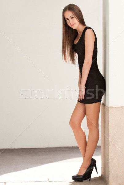 Slim beauty. Stock photo © lithian