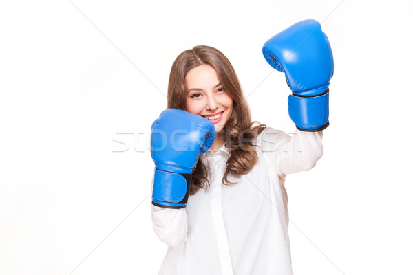 Bring on the fight. Stock photo © lithian