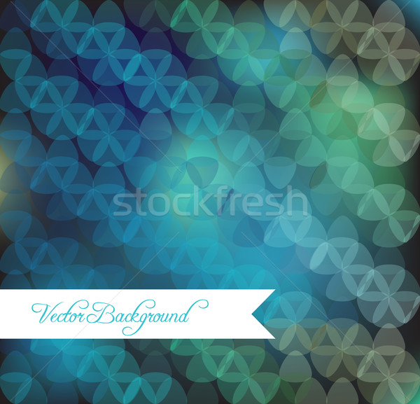 Absztrakt szirmok körök szín terv művészet Stock fotó © LittleCuckoo