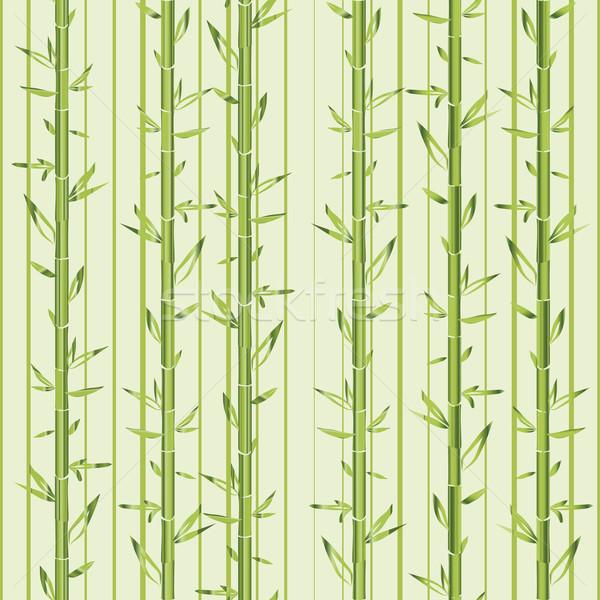 Foto stock: Verde · bambu · tira · vegetal · planta · textura