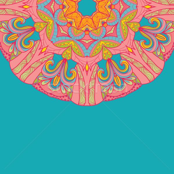 Ornamental round lace pattern Stock photo © LittleCuckoo