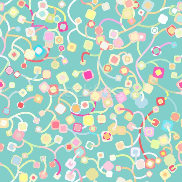 Sem costura abstrato textura primavera cor projeto Foto stock © LittleCuckoo