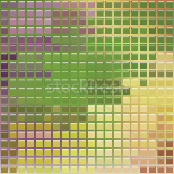 pixel glass style mosaic. Stock photo © LittleCuckoo