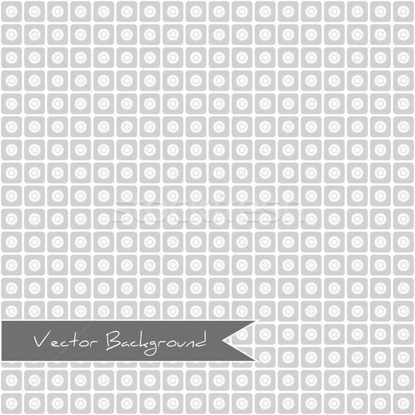Branco padrão geométrico círculo círculos abstrato Foto stock © LittleCuckoo