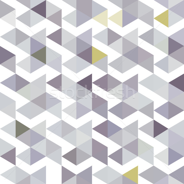pattern of gray triangles with a lilac shade Stock photo © LittleCuckoo