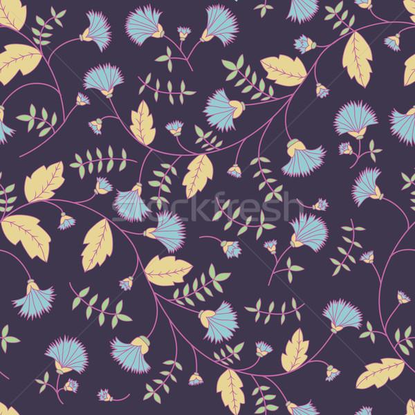 Patroon vector naadloos textuur natuur Stockfoto © LittleCuckoo