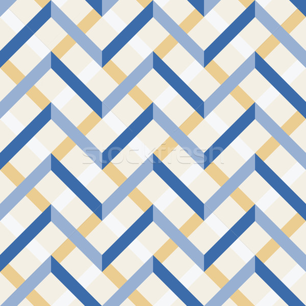 Vetor padrão étnico sem costura ornamento geometria Foto stock © LittleCuckoo