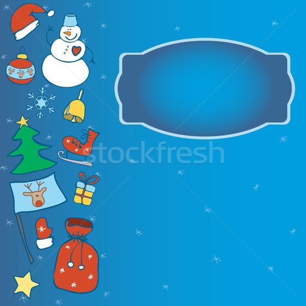 winter card Stock photo © LittleCuckoo