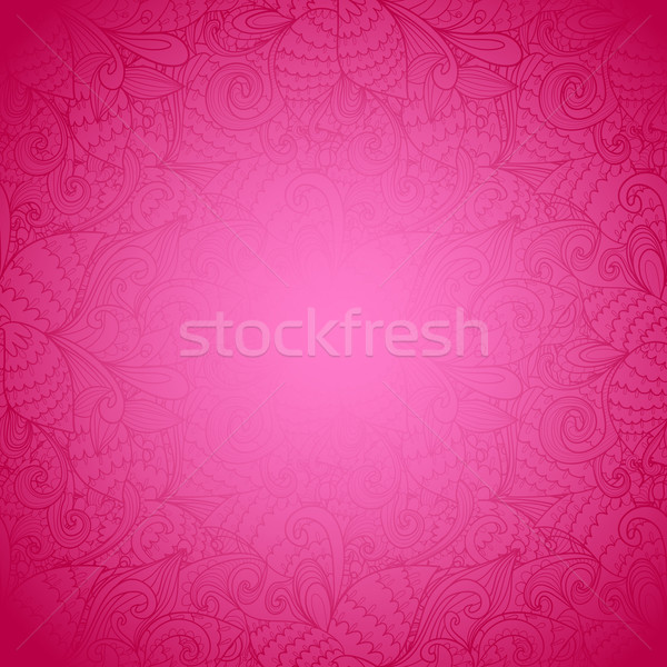 Sem costura floral rosa abstrato textura brilhante Foto stock © LittleCuckoo