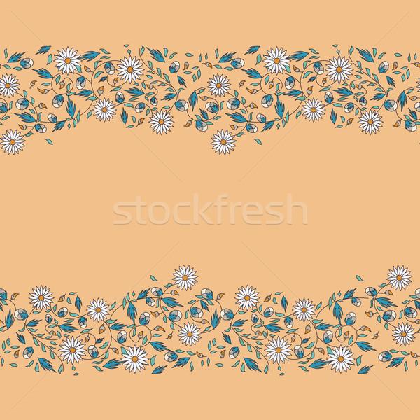 Napraforgó virág végtelenített természet háttér szépség Stock fotó © LittleCuckoo