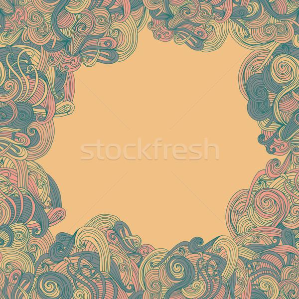 Abstrato sem costura quadro padrão superfície textura Foto stock © LittleCuckoo