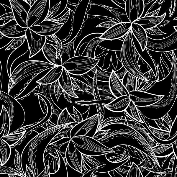 Soyut tek renkli çiçek bahçe Stok fotoğraf © LittleCuckoo