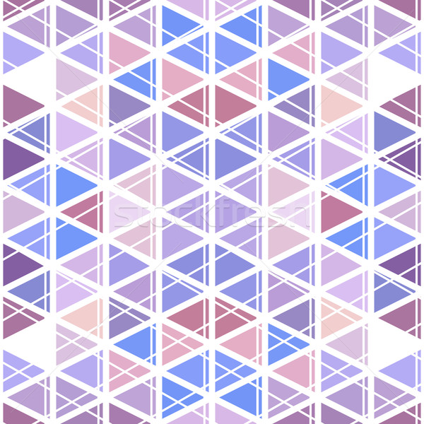 pattern geometric. Background with triangles Stock photo © LittleCuckoo