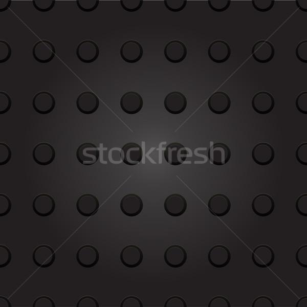 Tecnologia sem costura plástico ponto círculo textura Foto stock © LittleCuckoo
