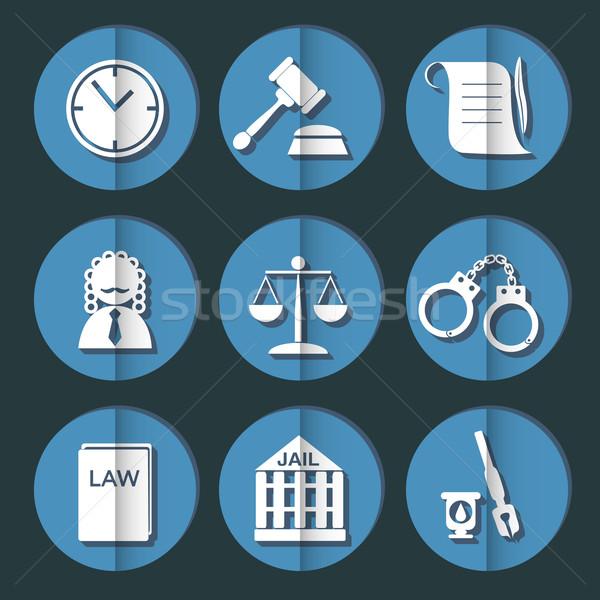 Legge giudice giustizia segno libro Foto d'archivio © LittleCuckoo