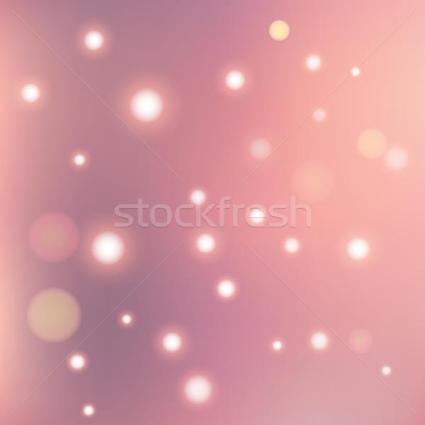 Rozmycie streszczenie geometria błyszczący elementy wektora Zdjęcia stock © LittleCuckoo