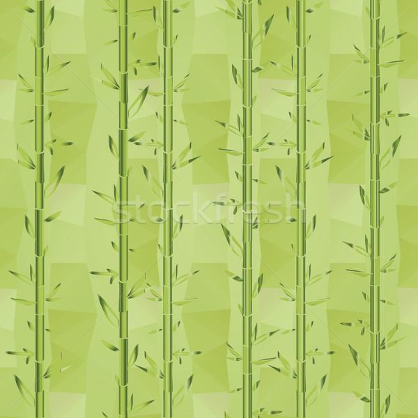 Yeşil bambu sebze bitki doku arka plan Stok fotoğraf © LittleCuckoo