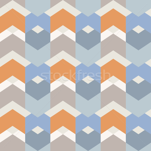 geometry hexagonal vector seamless pattern.   Stock photo © LittleCuckoo