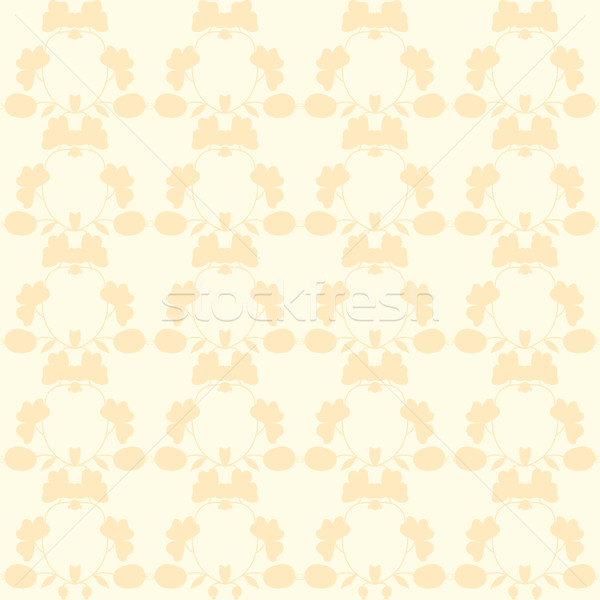 Stock photo: neutral floral background. swirl and curve