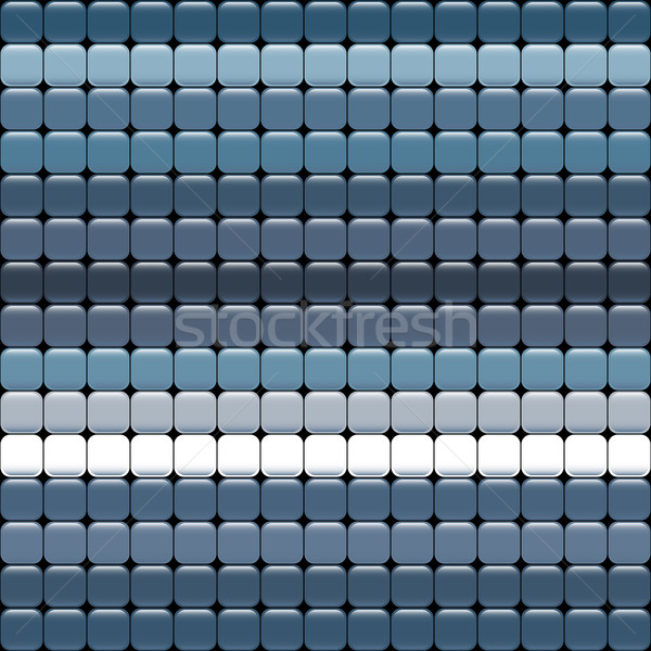 seamless blue texture of squares with glare. Stock photo © LittleCuckoo