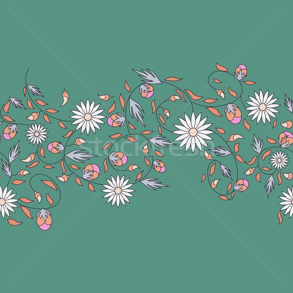 Ayçiçeği çiçek doğa arka plan güzellik Stok fotoğraf © LittleCuckoo