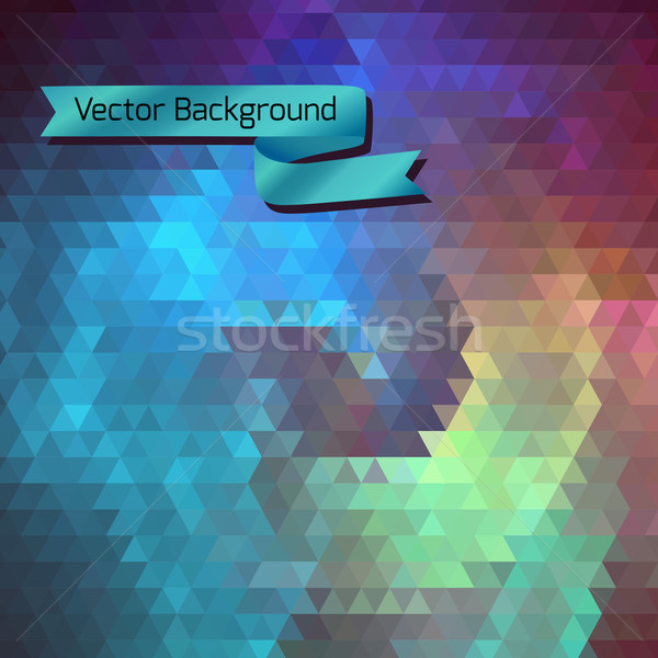 Abstract background of the triangles Stock photo © LittleCuckoo