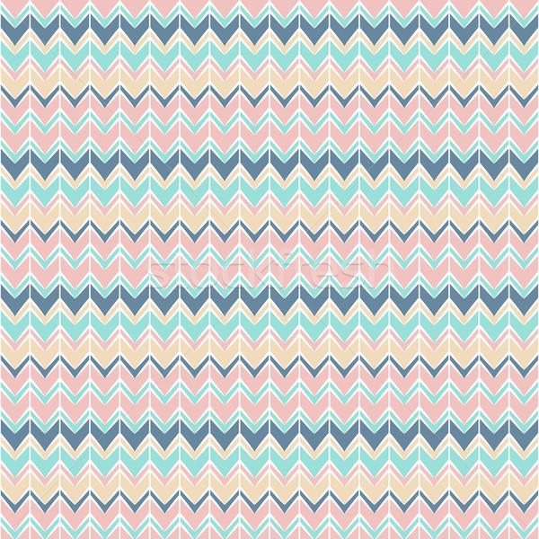 background with triangular element. zigzag Stock photo © LittleCuckoo