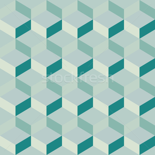 blue bright abstract geometric background Stock photo © LittleCuckoo