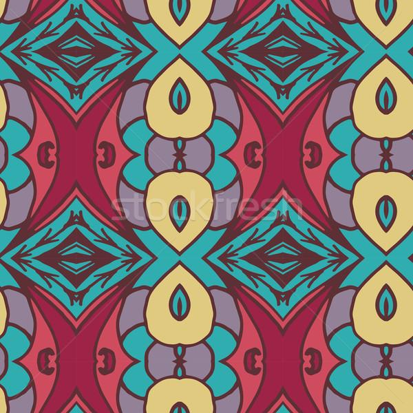 抽象的な シームレス 飾り パターン 万華鏡 効果 ストックフォト © LittleCuckoo