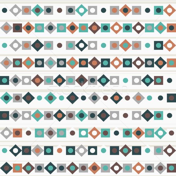 Geometrie vector lijnen mode ontwerp Stockfoto © LittleCuckoo
