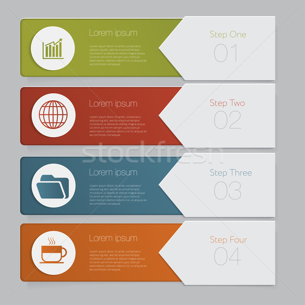 Infographic template website