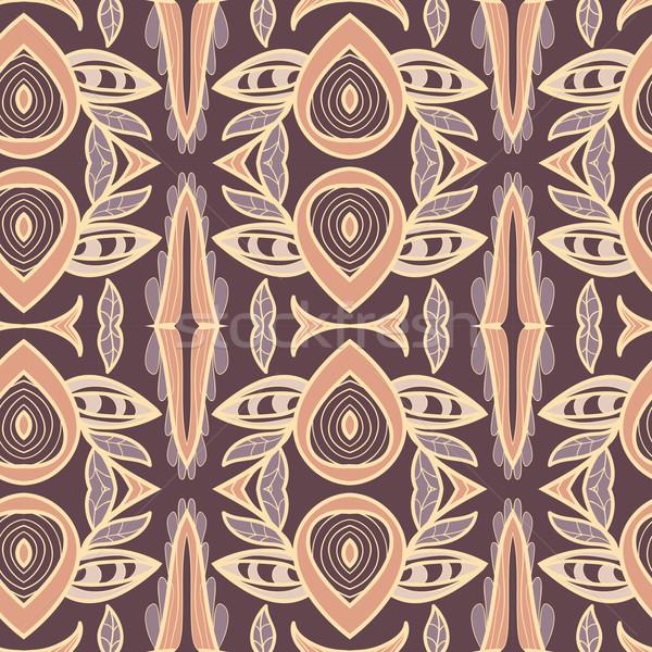 抽象的な 飾り パターン 万華鏡 効果 シームレス ストックフォト © LittleCuckoo