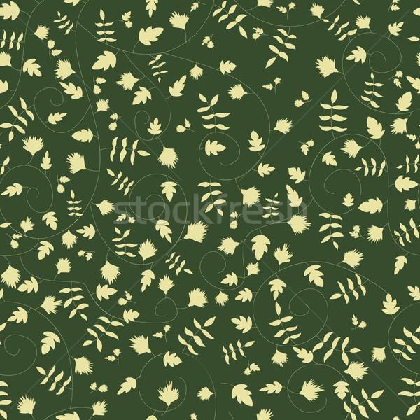 Cornflower pattern. Vector seamless texture Stock photo © LittleCuckoo