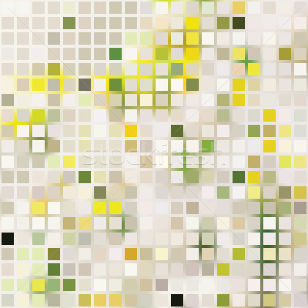 pale square, mosaic effect Stock photo © LittleCuckoo