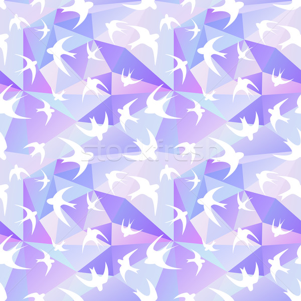 swallow and triangle Stock photo © LittleCuckoo