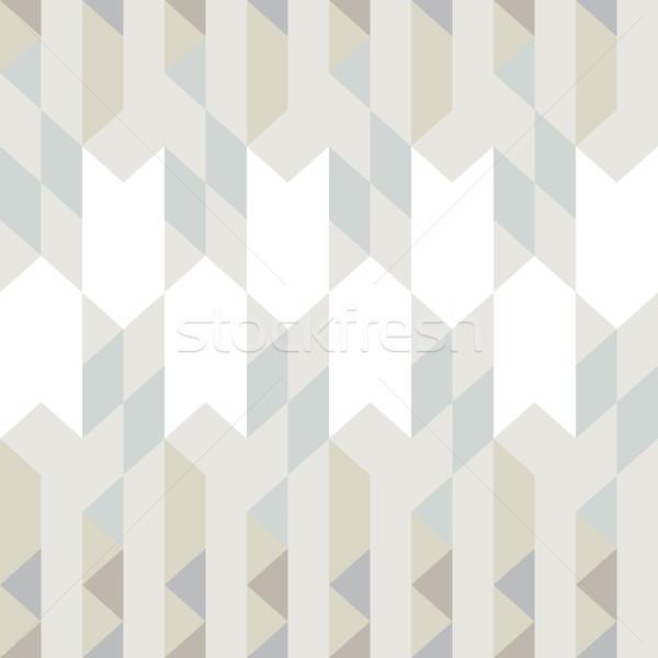 Absztrakt mértani háromszög végtelen minta minta háttér Stock fotó © LittleCuckoo