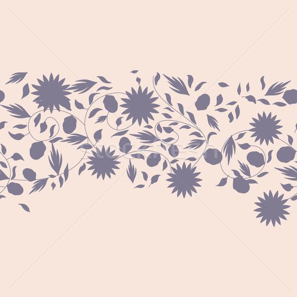Ayçiçeği çiçek siluet çiçekler doğa Stok fotoğraf © LittleCuckoo