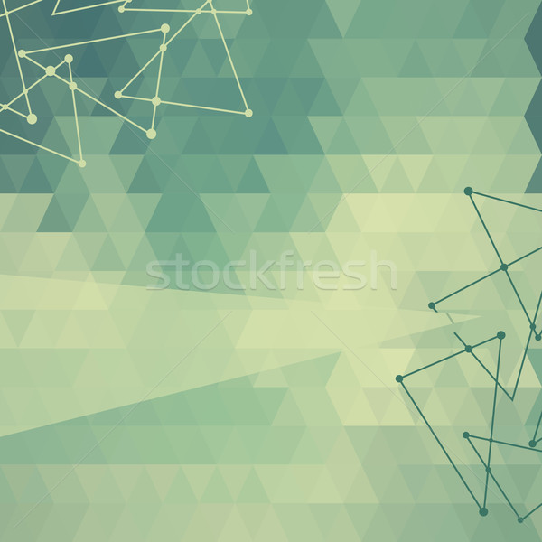 Abstract background of triangles triangular Stock photo © LittleCuckoo